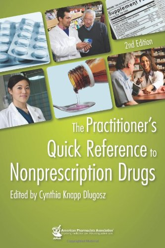 Practitioner's Quick Reference to Nonprescription Drugs, 2e  2nd 2012 edition cover