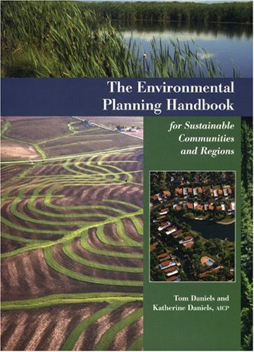 Environmental Planning Handbook for Sustainable Communities and Regions   2003 edition cover