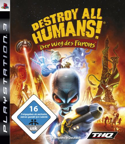 Destroy all Humans! Der Weg der Furons PlayStation 3 artwork