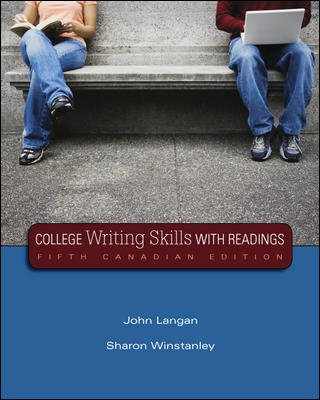 COLLEGE WRIT.SKILLS W/RDGS. >C N/A edition cover