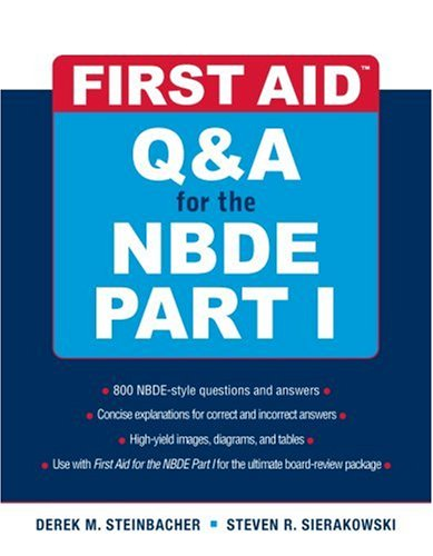 Q and A for the NBDE   2009 edition cover