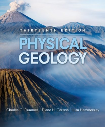 Physical Geology  13th 2010 edition cover