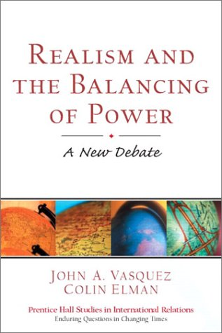 Realism and the Balancing of Power A New Debate  2003 9780130908667 Front Cover