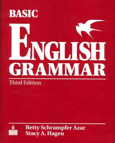 Basic English Grammar  3rd 2006 edition cover