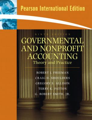 Governmental and Nonprofit Accounting  2008 edition cover