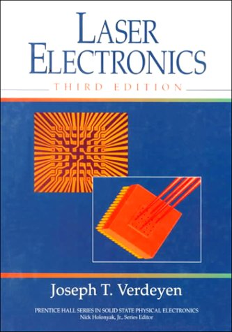 Laser Electronics  3rd 1995 (Revised) edition cover
