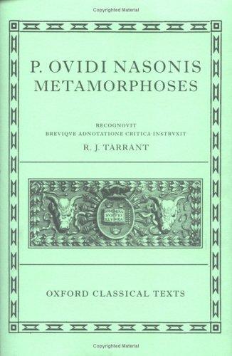 P. Ovidi Nasonis Metamorphoses   2004 edition cover