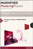 Modified MasteringPhysics with Pearson EText -- Standalone Access Card -- for Conceptual Physics  12th 2015 edition cover