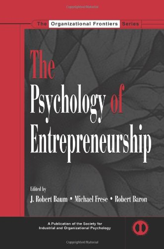 Psychology of Entrepreneurship   2006 edition cover