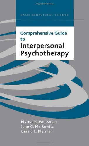 Comprehensive Guide to Interpersonal Psychotherapy   1999 edition cover