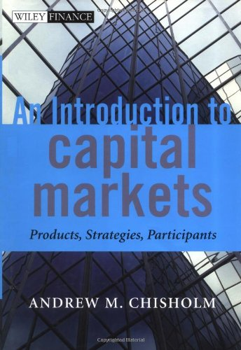 Introduction to Capital Markets Products, Strategies, Participants  2002 9780471498667 Front Cover