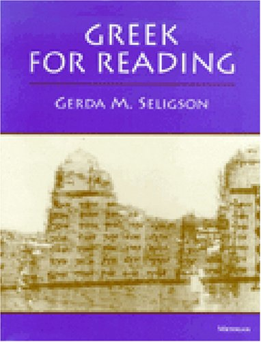 Greek for Reading  N/A 9780472082667 Front Cover