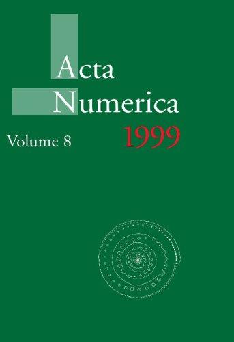 Acta Numerica 1999: Volume 8   2010 9780521157667 Front Cover