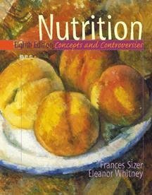 Nutrition Concepts and Controversies 8th 2000 9780534564667 Front Cover