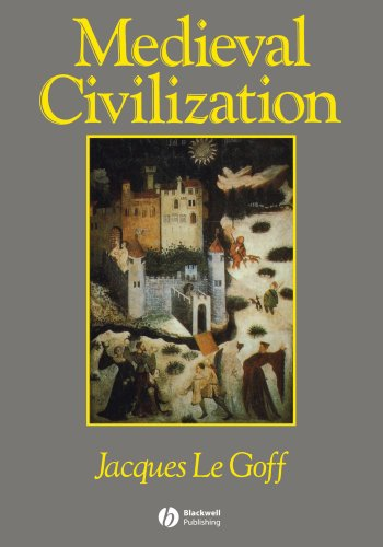 Medieval Civilization, 400-1500   1991 edition cover