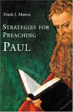 Strategies for Preaching Paul   2001 edition cover