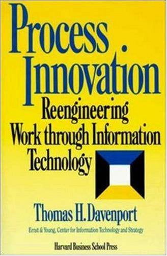 Process Innovation Reengineering Work Through Information Technology  1992 edition cover