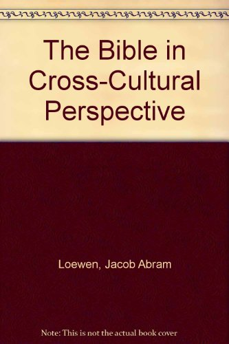 Bible in Cross-Cultural Perspective   2000 edition cover
