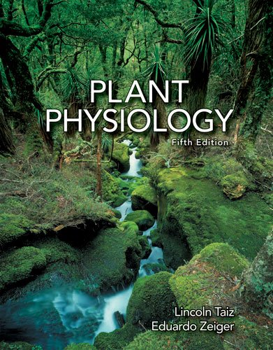 Plant Physiology  5th 2010 edition cover
