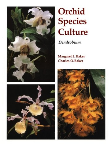 Orchid Species Culture Dendrobium N/A 9780881923667 Front Cover
