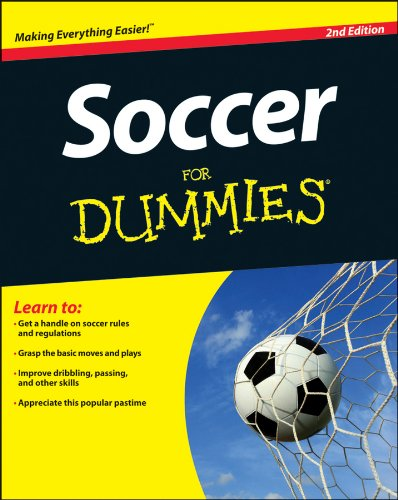 Soccer for Dummies�  2nd 2013 edition cover