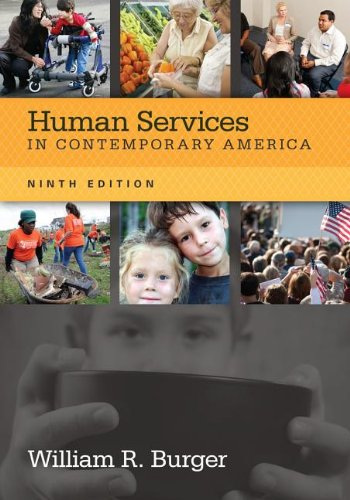 Human Services in Contemporary America:   2013 edition cover