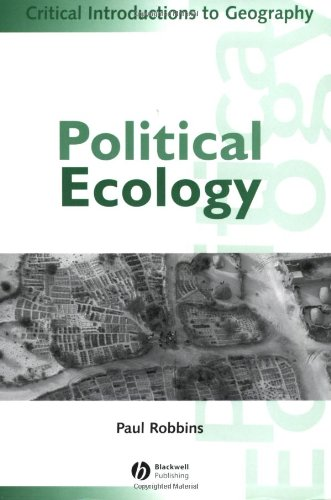 Political Ecology A Critical Introduction  2004 edition cover