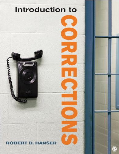 Introduction to Corrections   2013 edition cover