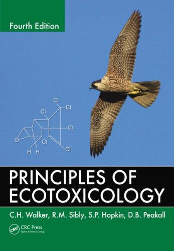 Principles of Ecotoxicology  4th 2012 (Revised) edition cover