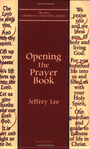 Opening the Prayer Book   1999 edition cover