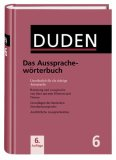 Ausspracheworterbuch:  2006 edition cover