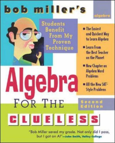 Algebra for the Clueless  2nd 2007 (Revised) edition cover