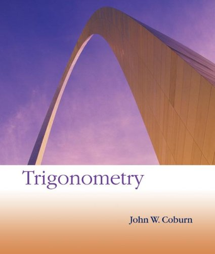 Trigonometry 1st 2008 9780073312668 Front Cover
