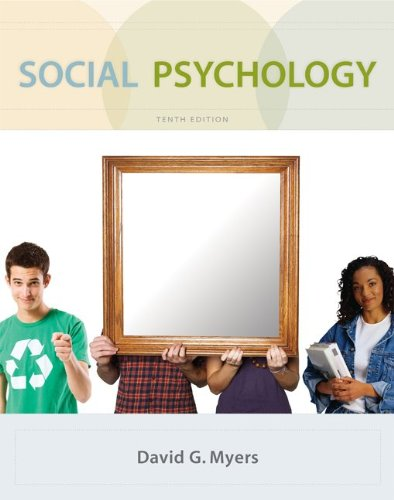 Social Psychology  10th 2010 edition cover