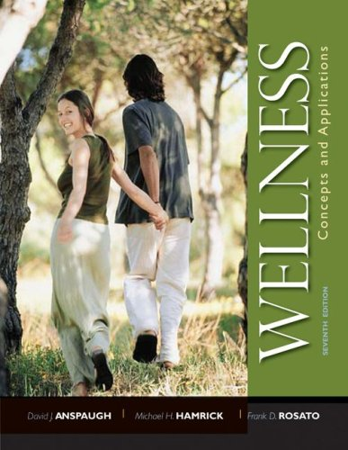Wellness Concepts and Applications 7th 2009 edition cover