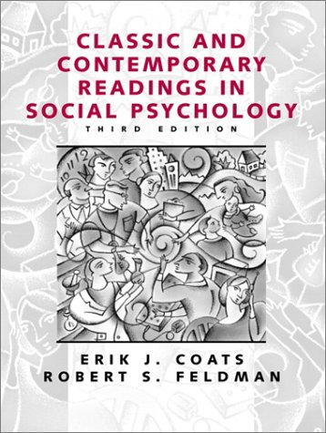 Classic and Contemporary Readings in Social Psychology  3rd 2001 edition cover