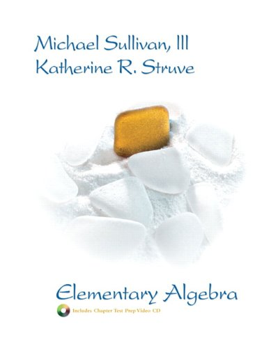 Elementary Algebra   2007 9780131467668 Front Cover