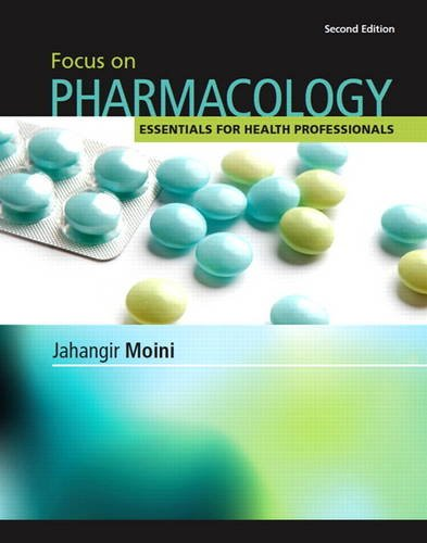 Focus on Pharmacology  2nd 2013 (Revised) edition cover