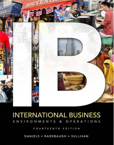 International Business Environments and Operations 14th 2013 (Revised) edition cover
