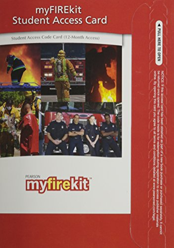 My Fire Kit   2010 9780135089668 Front Cover
