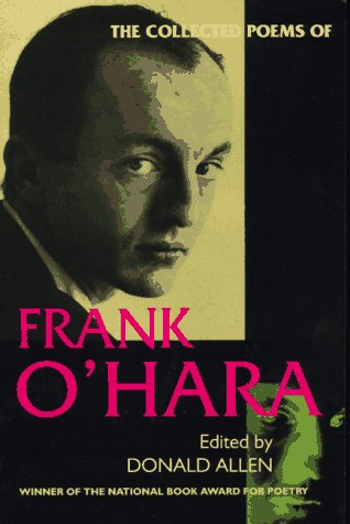 Collected Poems of Frank O'Hara   1995 edition cover
