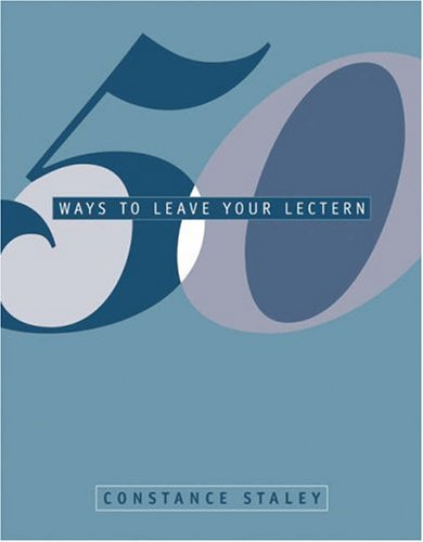 50 Ways to Leave Your Lectern   2003 9780534538668 Front Cover