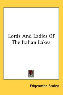 Lords and Ladies of the Italian Lakes N/A edition cover