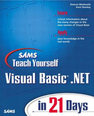Visual Basic . Net   2002 9780672320668 Front Cover