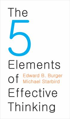 5 Elements of Effective Thinking   2012 edition cover