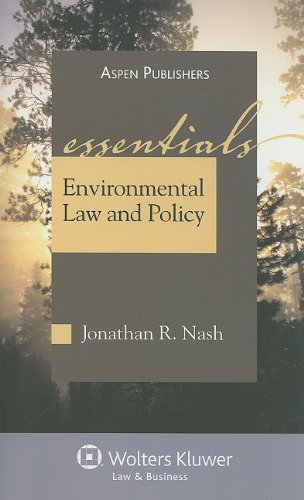 Environmental Law and Policy  7th 2010 (Student Manual, Study Guide, etc.) edition cover