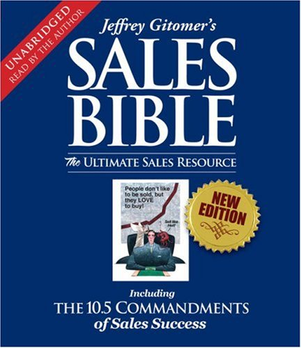 The Sales Bible:  2008 edition cover
