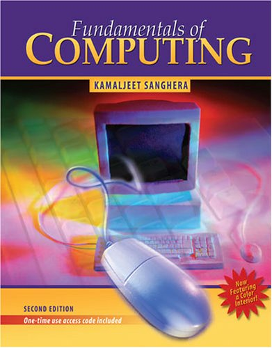 Fundamentals of Computing 2nd 2006 (Revised) 9780757528668 Front Cover