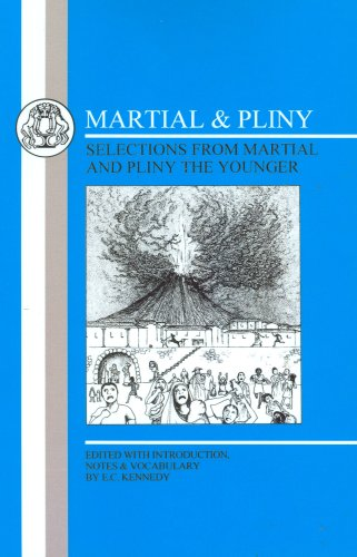 Martial and Pliny  Reprint edition cover