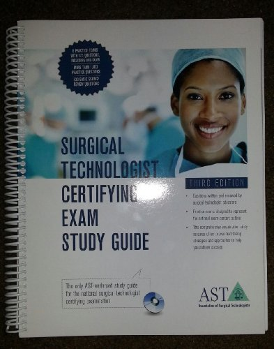 SURGICAL TECH.CERT.EXAM STUDY GDE.      N/A edition cover